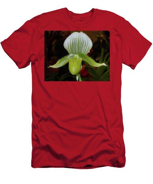 Green Lady Slipper Men's T-Shirt (Athletic Fit)