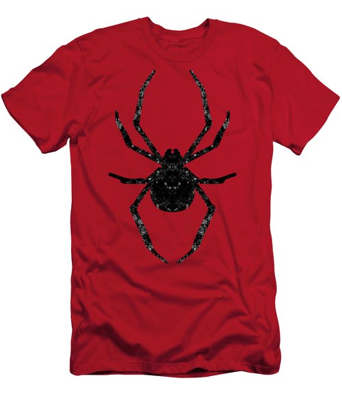 Halloween Spider  Men's T-Shirt (Athletic Fit)