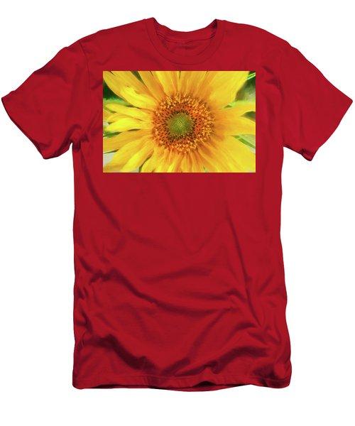 Hannahs Sunflower 002  Men's T-Shirt (Athletic Fit)