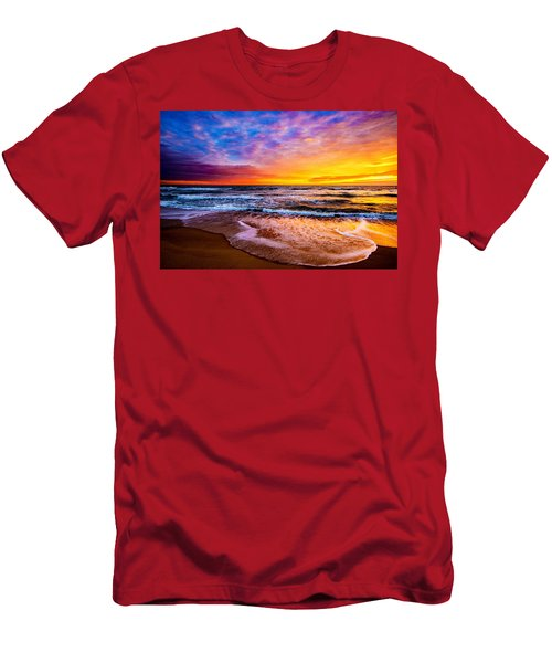 Hatteras Dawn  Men's T-Shirt (Athletic Fit)