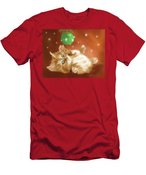 Holiday Kitty Men's T-Shirt (Athletic Fit)