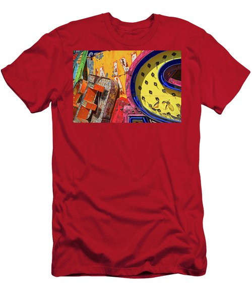 Men's T-Shirt (Athletic Fit) featuring the photograph Hot Mess by Skip Hunt