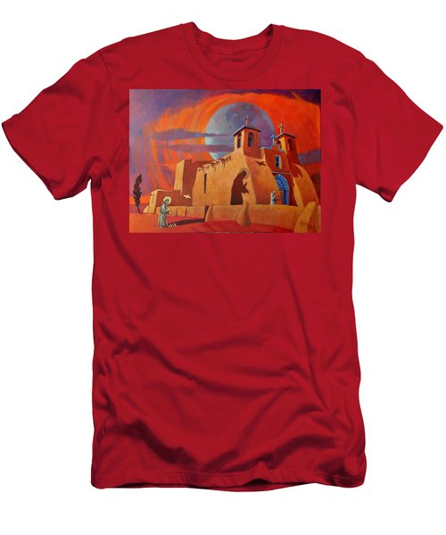 In The Shadow Of St. Francis Men's T-Shirt (Athletic Fit)