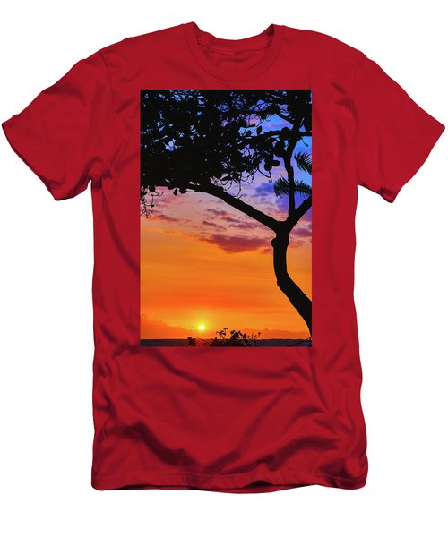 Just Another Kona Sunset Men's T-Shirt (Athletic Fit)