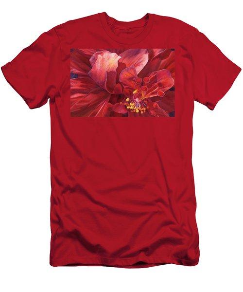 Kilauea's Kiss Men's T-Shirt (Athletic Fit)