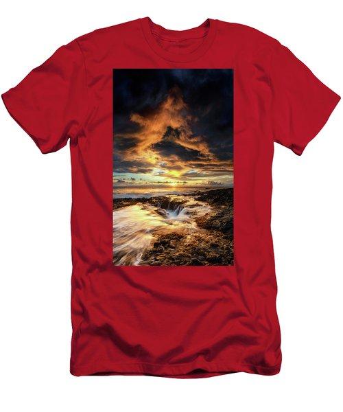 Kona Sunset Men's T-Shirt (Athletic Fit)