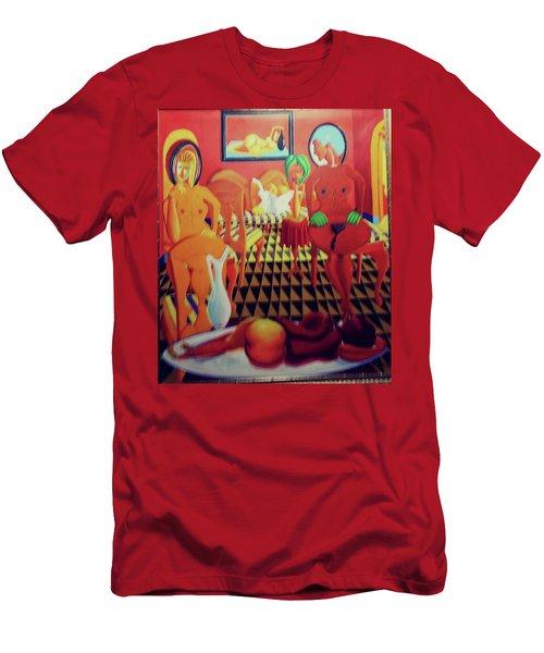 La Casa Celestina Psychopathology Of The Brown Paper Bag Criterion Men's T-Shirt (Athletic Fit)