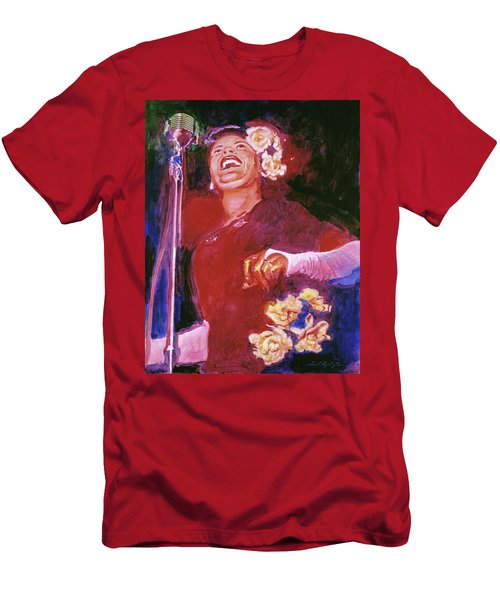 Lady Day - Billie Holliday Men's T-Shirt (Athletic Fit)