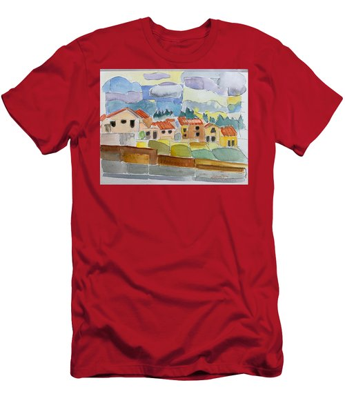 Laguna Del Sol Houses Design  Men's T-Shirt (Athletic Fit)