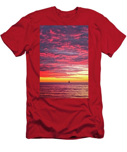 Let There Be Light Men's T-Shirt (Athletic Fit)
