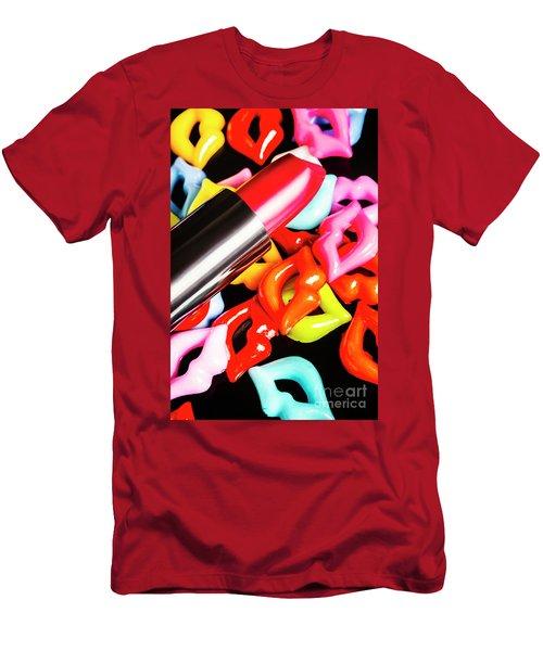 Lip Stack Men's T-Shirt (Athletic Fit)