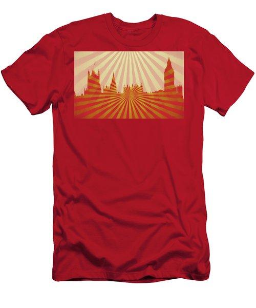 London Pop Art Men's T-Shirt (Athletic Fit)