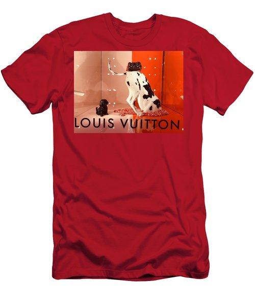 Louis Vuitton Signature Dog Men's T-Shirt (Athletic Fit)