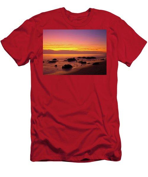 Low Tide Nautical Twilight Men's T-Shirt (Athletic Fit)