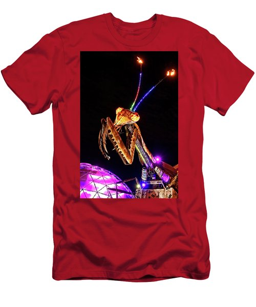Men's T-Shirt (Athletic Fit) featuring the photograph Mantis by Skip Hunt