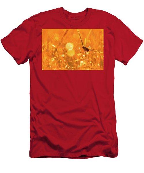 Marsh Sparrow Men's T-Shirt (Athletic Fit)