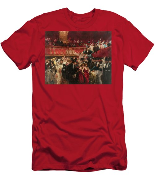 Masked Ball, 19th Century Men's T-Shirt (Athletic Fit)