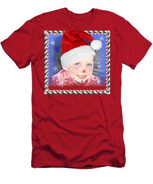 Merry Christmas Max Men's T-Shirt (Athletic Fit)