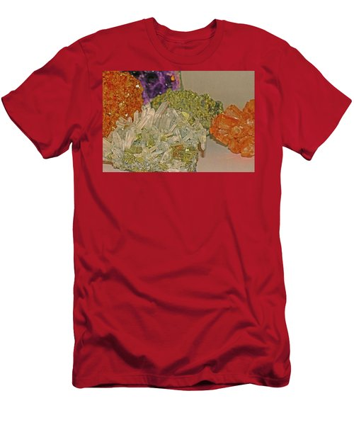 Men's T-Shirt (Athletic Fit) featuring the photograph Mineral Medley 7 by Lynda Lehmann