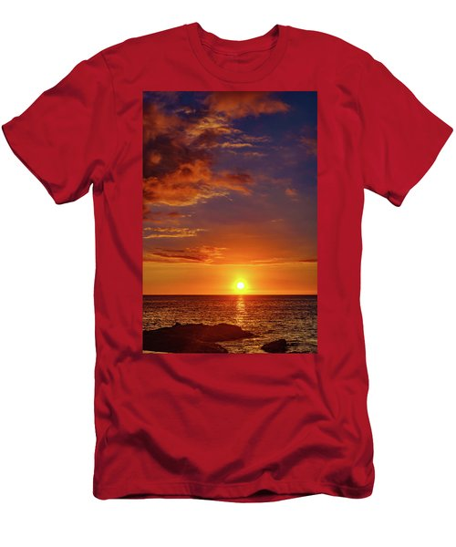 Monday Sunset Men's T-Shirt (Athletic Fit)