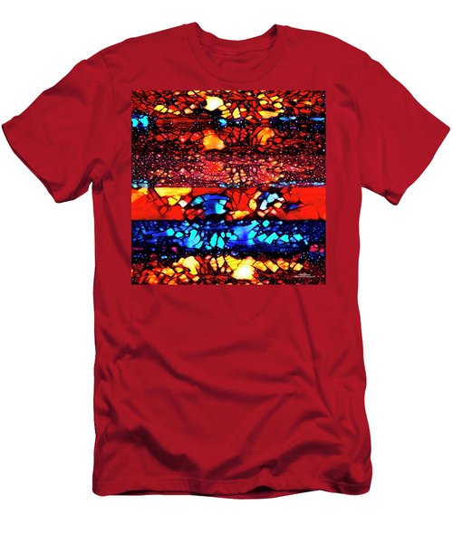 Men's T-Shirt (Athletic Fit) featuring the digital art Muad'dib's Dream by Mike Braun