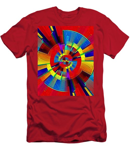 My Radar In Color Men's T-Shirt (Athletic Fit)