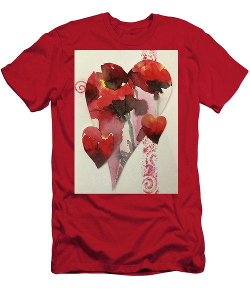 My Valentine Four Men's T-Shirt (Athletic Fit)