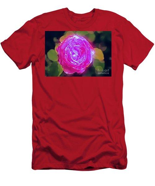 Mystic Rose Men's T-Shirt (Athletic Fit)
