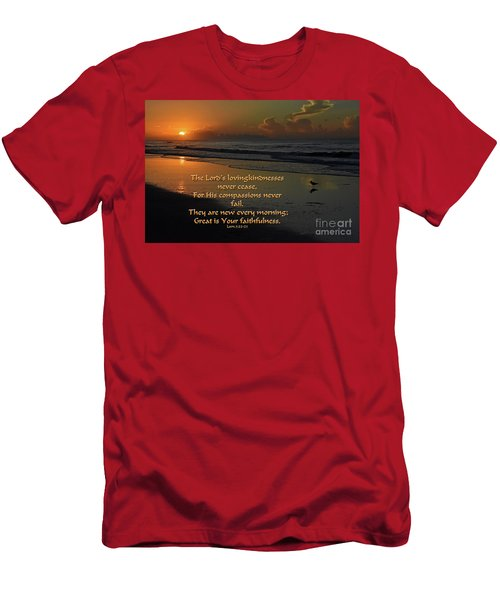 New Every Morning Men's T-Shirt (Athletic Fit)
