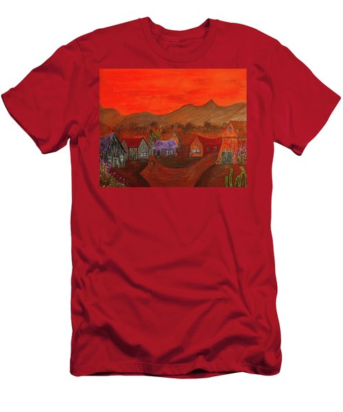 New Mexico Dreaming Men's T-Shirt (Athletic Fit)
