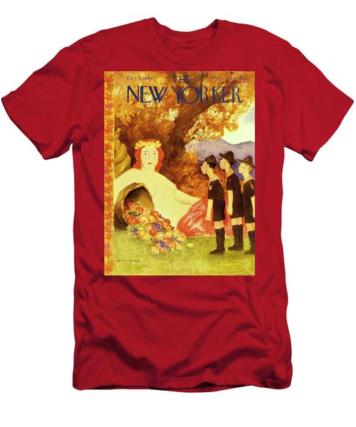 New Yorker October 9th 1943 Men's T-Shirt (Athletic Fit)