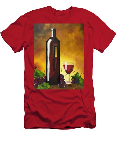 Okanagan Red  Men's T-Shirt (Athletic Fit)