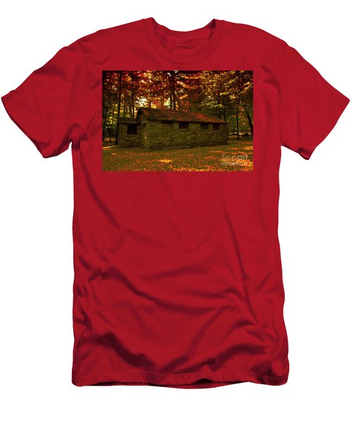 Old Stone Structure Men's T-Shirt (Athletic Fit)