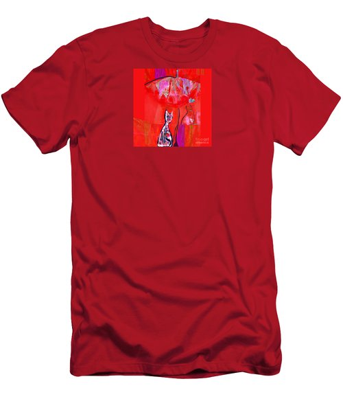Oliver Considers Life As A Butterfly Men's T-Shirt (Athletic Fit)
