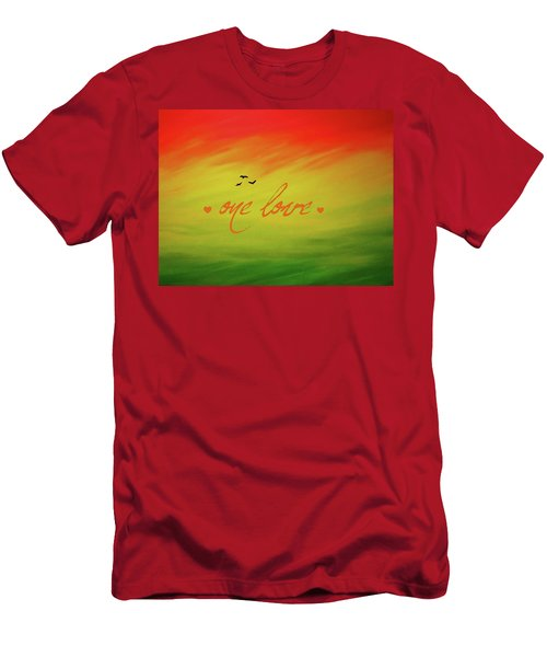 One Love Men's T-Shirt (Athletic Fit)