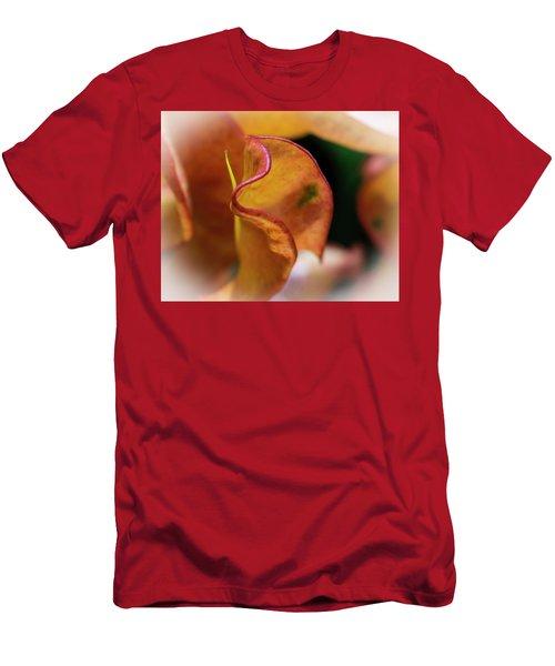 Orange Croton Men's T-Shirt (Athletic Fit)