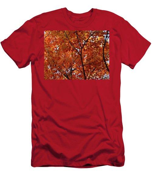 Orange Everywhere Men's T-Shirt (Athletic Fit)