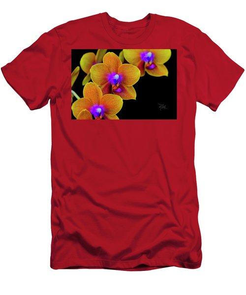 Orchid Study Ten Men's T-Shirt (Athletic Fit)