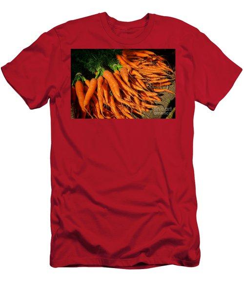 Organic Carrots Men's T-Shirt (Athletic Fit)