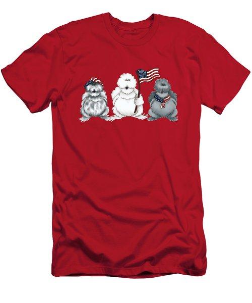 Patriotic Silkies Men's T-Shirt (Athletic Fit)
