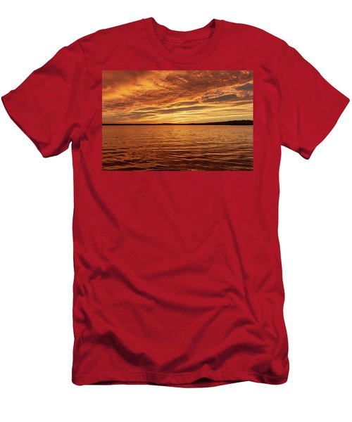 Percy Priest Lake Sunset Men's T-Shirt (Athletic Fit)