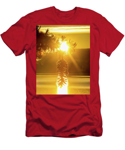 Pine Cone Fire Men's T-Shirt (Athletic Fit)