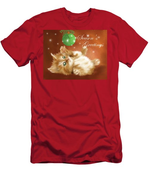 Playful Tabby Men's T-Shirt (Athletic Fit)