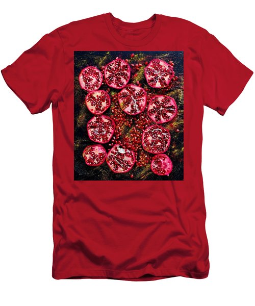 Pomegranate New Year Men's T-Shirt (Athletic Fit)