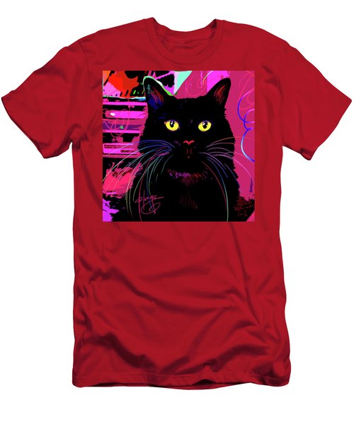 pOpCat Morticia Men's T-Shirt (Athletic Fit)