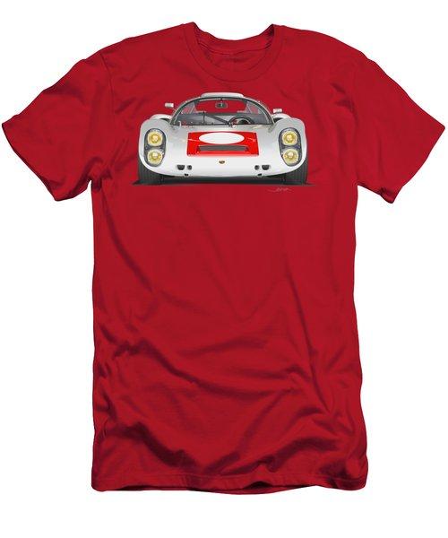 Porsche 910 No Background Men's T-Shirt (Athletic Fit)