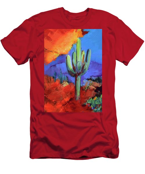 Under The Sonoran Sky By Elise Palmigiani Men's T-Shirt (Athletic Fit)