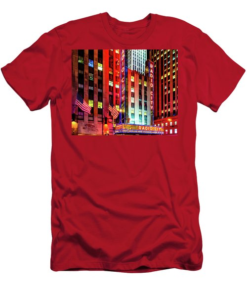 Radio City Music Hall Men's T-Shirt (Athletic Fit)