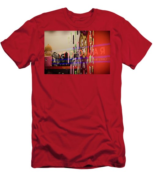 Radio City Reflection Men's T-Shirt (Athletic Fit)