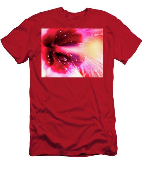 Rain Flower Men's T-Shirt (Athletic Fit)